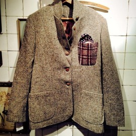 pimpstick - Remake tweed jacket (These are all one-off pieces!!!!)