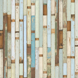 Piet Hein Eek - Wallpaper, wooden floor