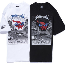 STUSSY x MARVEL COMICS  - Spiderman