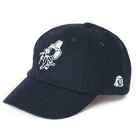 TACOMA FUJI RECORDS - Mountain Mouse Syndicate WOOL CAP (navy)