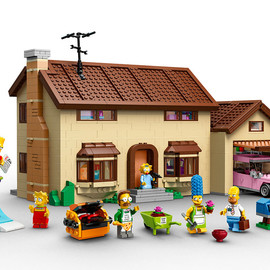 LEGO - The Simpsons family