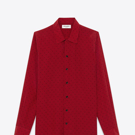 Saint Laurent - Requin Collar Shirt in Triangle and Dash