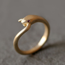Ripple Hawaiian Jewelry - Snake Tail Ring