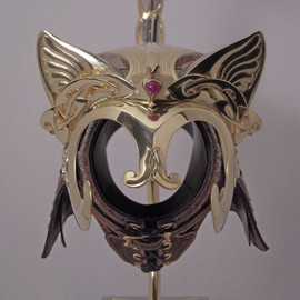 Jeff de Boer - Elven Princess Cat Helmet