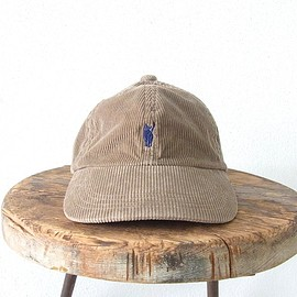 YOUNG & OLSEN The DRYGOODS STORE - YOUNG & OLSEN The DRYGOODS STORE | JIMMY THE CAT CORD CAP(BEIGE)