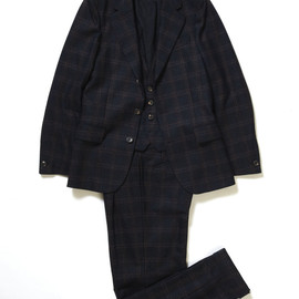 Umit Benan - Wool 3 Piece Suit