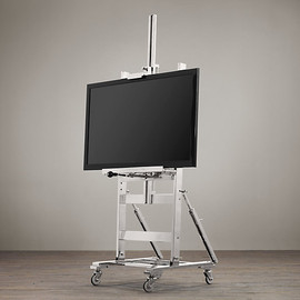 Restoration Hardware - Polished-Nickel TV Easel