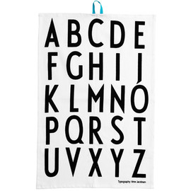 design letters - arne jacobsen tea towels