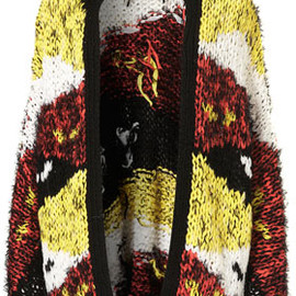 TOPSHOP - Knitted Native Festival Cardi