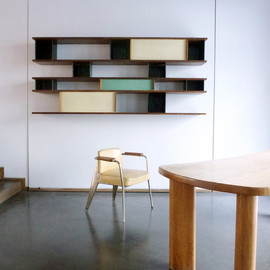 CHARLOTTE PERRIAND (1903-1999) AND JEAN PROUVE (1901-1984)