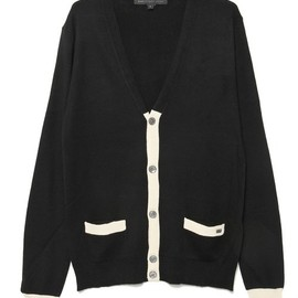 MARC BY MARC JACOBS - SILK COTTON CASHMERE SWEATER CARDIGAN