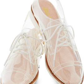 BASS - Bass Rachel Antonoff For Clear and Far Flat in  (white)