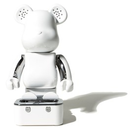 MEDICOM TOY - Bearbrick iPod Speakers (White)