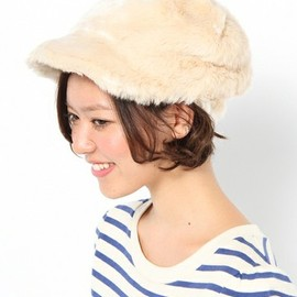 Another Edition - AE FAKE FUR CAP