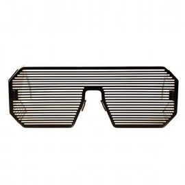 LINDA FARROW, Boris Bidjan Saberi - Sunglasses in Black
