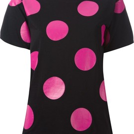 SAINT LAURENT - FW2014 polka dot T-shirt