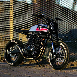 "Lucky Custom - ""Super Cobra 400"" HONDA"