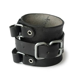 PEEL&LIFT - Leather Wrist Strap (black)