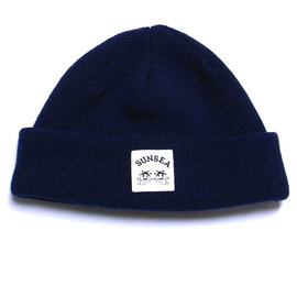 SUNSEA - Reversible knit cap