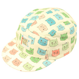 MOKUYOBI THREADS - 5panel walter hat (cat tint)