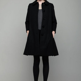 Charles Anastase - Peter Pan Collar Coat