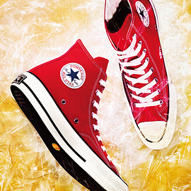 converse addict - 2018 AW HOLIDAY collection chuck taylor canvas hi red