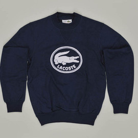 LACOSTE - lacoste:Vintage Lacoste Sweatshirt - 1980From the Lacoste S.A. Archives. © All Rights Reservedダサかわゆい