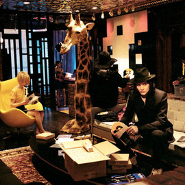 Jack White. In his office