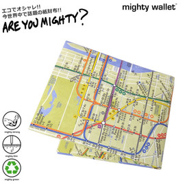 MIGHTY WALLET - MIGHTY WALLET マイティウォレット 紙財布 メンズ ペーパーウォレット NYC SUBWAY