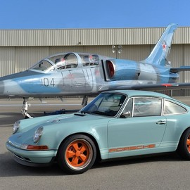 Porsche - 911 Singer Racing Blue