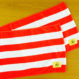 KONCOS - RED BORDER TOWEL