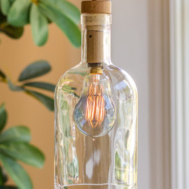 Salvage + Craft - Art In The Age Pendant Bottle Lamp
