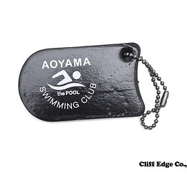 thePOOLaoyama - thePOOLaoyama(ザプール青山)FLOATINGKEYHOLDER(SWIMMINGCLUB)(キーホルダー)BLACK278-000389-012x【新品】
