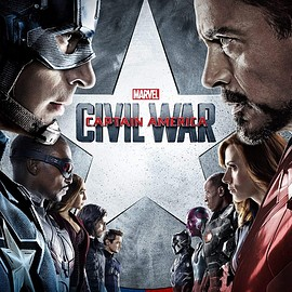 MARVEL - Captain America Civil War Poster