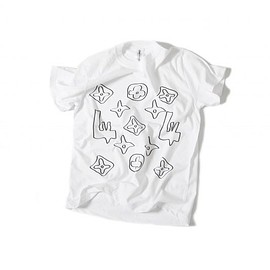OMIYAGE by POURTON DE MOI - モノグラム TEE  WHITE