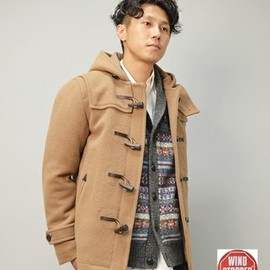 """SHIPS JET BLUE - SHIPS GENERAL SUPPLY: """"GORE TEX"""" ダッフルコート"""