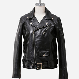 beautiful people - vintage leather riders jacket