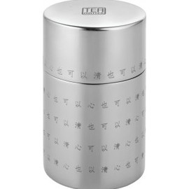 ALESSI - tea caddy