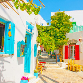 greece - dead-end-gives-way:Amorgos, Greecebuzfeed