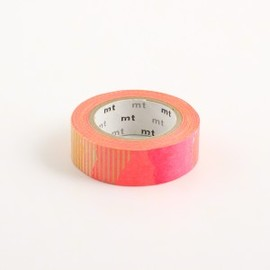 mt - Pink Orange Collage (Tsugihagi) Tape Washi Tape