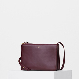 CELINE - Trio Bag burgundy