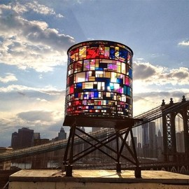 Tom Fruin - Watertower