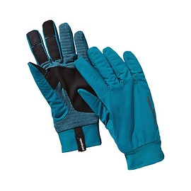 patagonia - Wind Shield Gloves - Underwater Blue