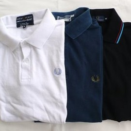 Fred Perry × Edifice  Liberty Polo Shirts