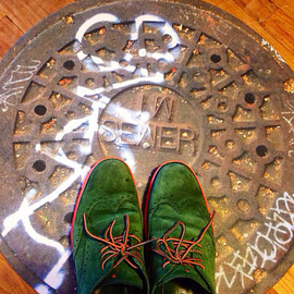 Vernakular Photo Designs - San Francisco  Manhole Cover Doormat