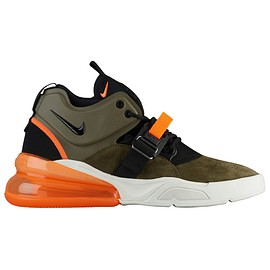 NIKE - Air Force 270 - Medium Olive/Black/Challenge Red/Sail