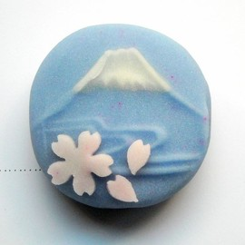 sweets - The wagashi 桜富士