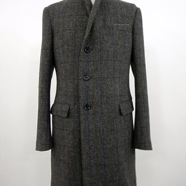 Soe - harris tweed chester coat