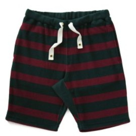 bal - Stripe Pile Short (green/burgundy)