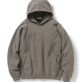 nonnative - COACH HOODY COTTON SWEAT OVERDYED